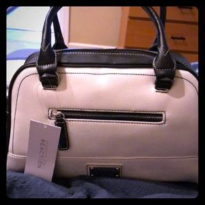 Brand new black and white Kenneth Cole purse